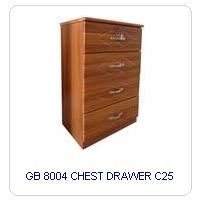 GB 8004 CHEST DRAWER C25